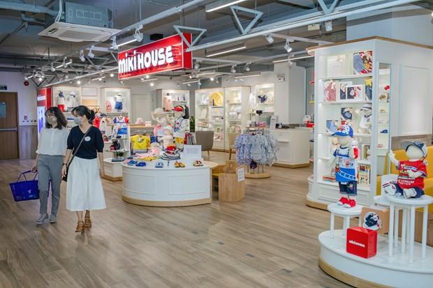 Inauguran en Vietnam primera tienda de marca japonesa de ropa infantil MIKI HOUSE hinh anh 1