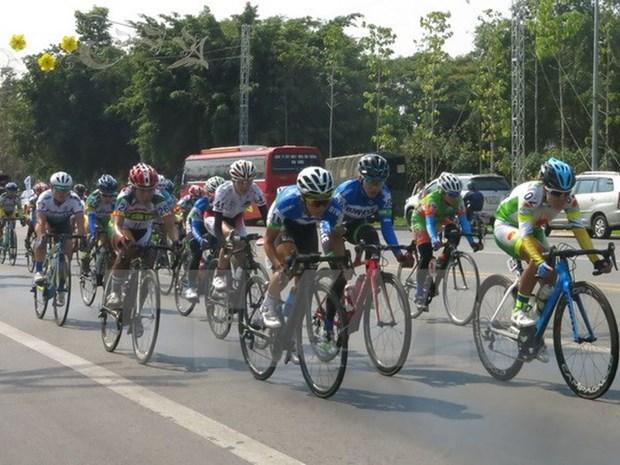 Nutrida participacion en X torneo internacional de ciclismo femenino Binh Duong hinh anh 1
