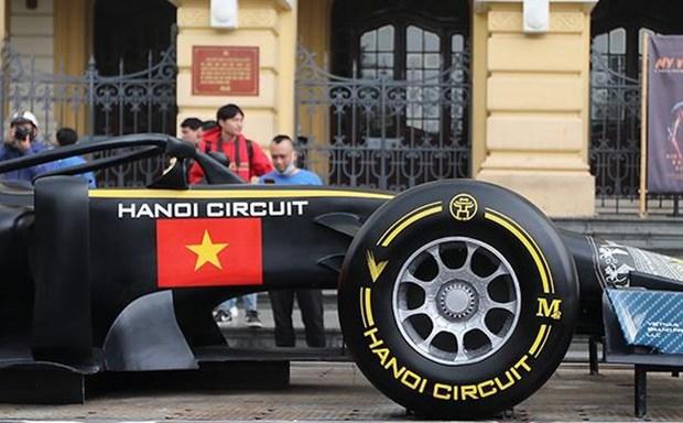 Hanoi preve auge turistico gracias al Gran Premio de Formula 1 hinh anh 1
