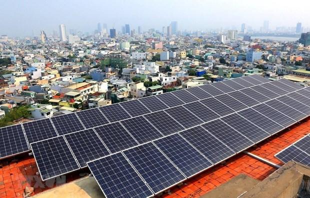 Mas de mil empresas industriales en Ciudad Ho Chi Minh desarrollan energia solar en azotea hinh anh 1