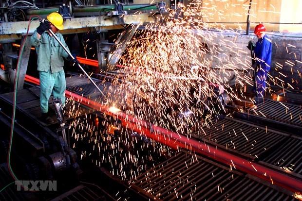 Disminuyen importaciones de acero de Vietnam en enero hinh anh 1