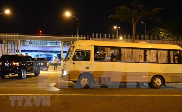 Repatrian a turistas sudcoreanos desde ciudad vietnamita de Da Nang hinh anh 1