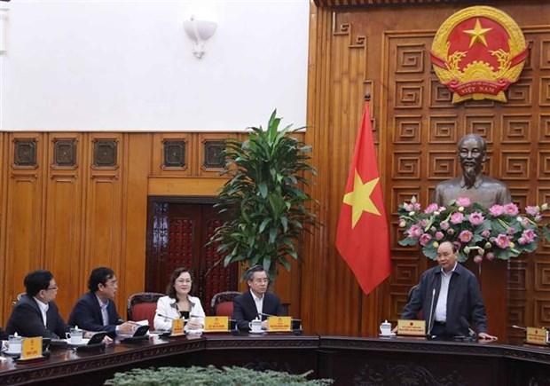 Premier vietnamita orienta pautas del desarrollo de la provincia de Bac Lieu hinh anh 1