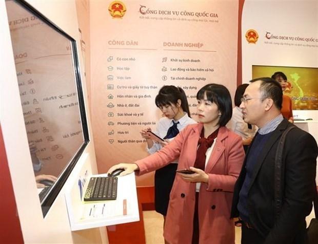Impulsa Vietnam la construccion del gobierno electronico hinh anh 1