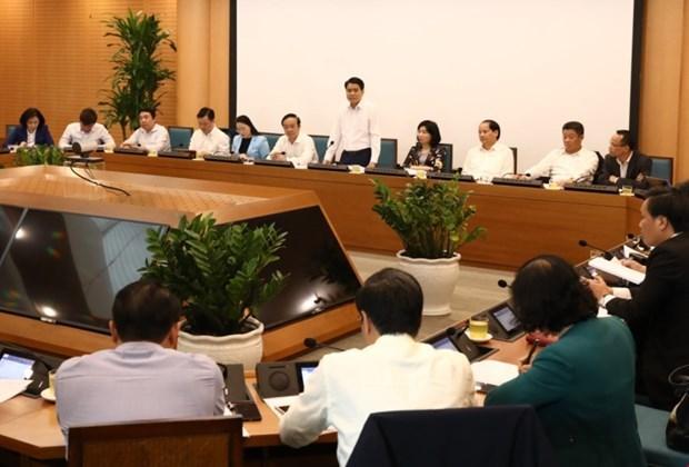 Plantea Hanoi soluciones para el desarrollo socioeconomico hinh anh 1