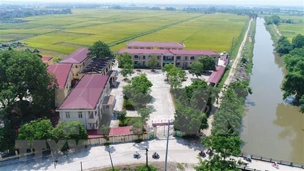 Mas de la mitad de las comunas vietnamitas cumplen criterios de desarrollo hinh anh 1