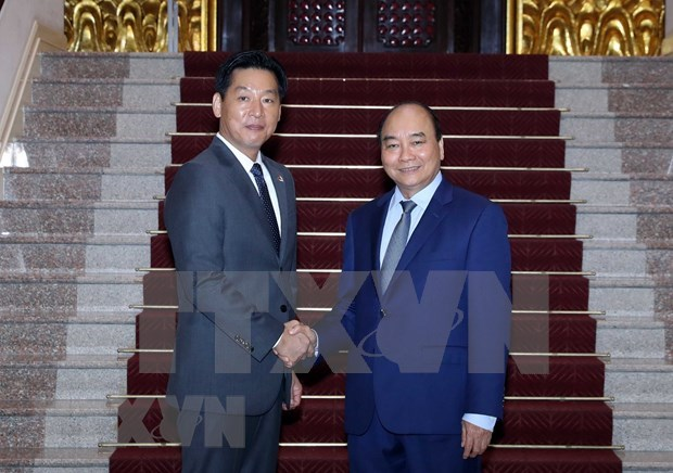 Exhortan a empresa japonesa Aeon a impulsar exportaciones de productos vietnamitas hinh anh 1