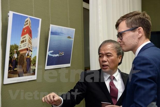Exponen en Rusia fotos de la Agencia Vietnamita de Noticias hinh anh 1