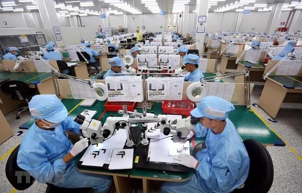 Goza Vietnam de superavit comercial de 100 millones de dolares en febrero hinh anh 1