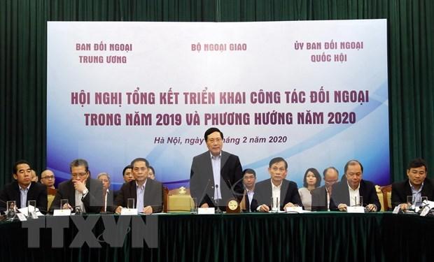 Vietnam por fortalecer labores de relaciones exteriores hinh anh 1