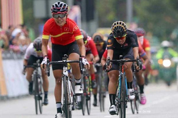 Gana pedalista vietnamita primera etapa del Torneo Internacional de Ciclismo Femenino hinh anh 1