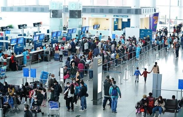 Suspenden aeropuertos vietnamitas recepcion de vuelos desde Corea del Sur hinh anh 1