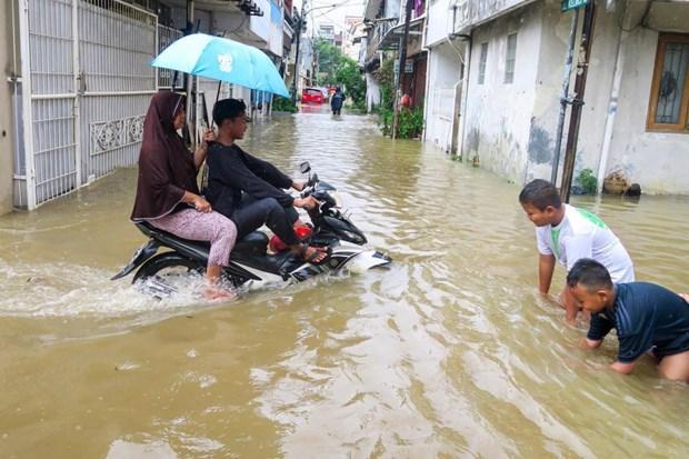 Indonesia invierte casi 1,5 millones de dolares para reducir riesgo de inundacion hinh anh 1