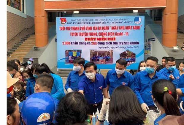 Lanza provincia vietnamita de Vinh Phuc Mes de la Juventud 2020 hinh anh 1
