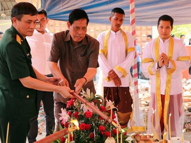 Erigen otro monumento de amistad Vietnam-Camboya hinh anh 1