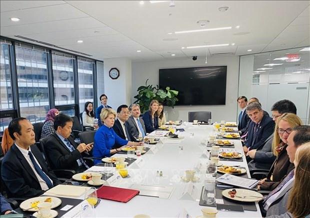 Vietnam promueve cooperacion ASEAN-EE.UU. en comercio y finanzas hinh anh 1