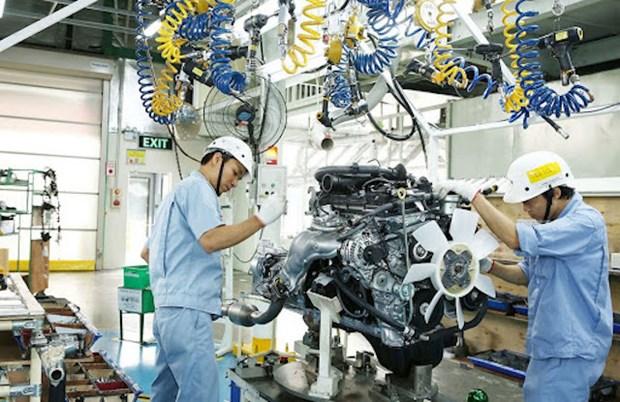 Produccion industrial de Vietnam crece un 6,2 por ciento en primer bimestre del ano hinh anh 1