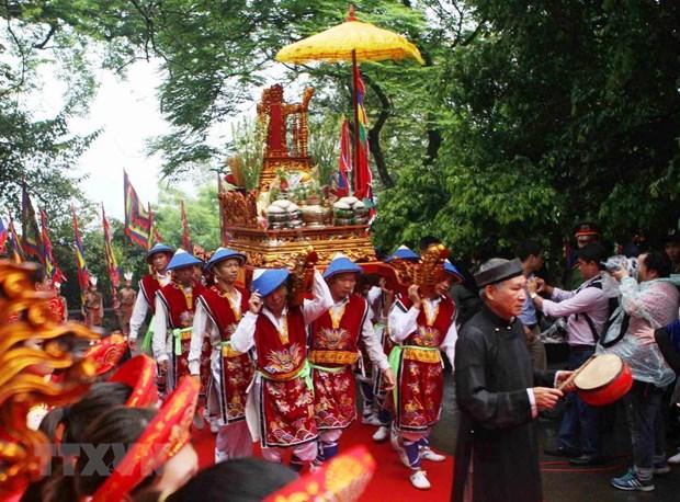 Limitaran afluencia masiva en Festival del Templo Hung en Vietnam hinh anh 1