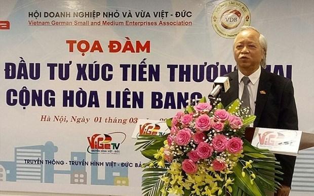 Vietnam-Alemania: Nueva tendencia en relaciones economicas hinh anh 1