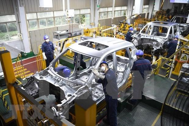Filipinas reporta senales positivas en sector manufacturero hinh anh 1