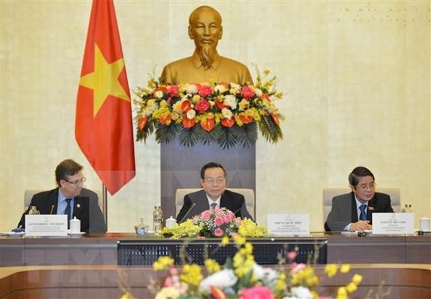 Vietnam y Estados Unidos abogan por una mayor cooperacion economica hinh anh 1