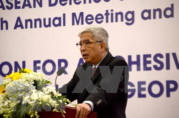 Inauguran en Vietnam reunion de Red de Instituciones de Seguridad de ASEAN hinh anh 1