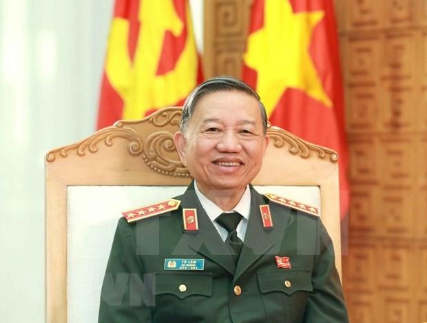Fuerza policiaca de provincia vietnamita de Vinh Phuc firme en lucha anticriminal hinh anh 1