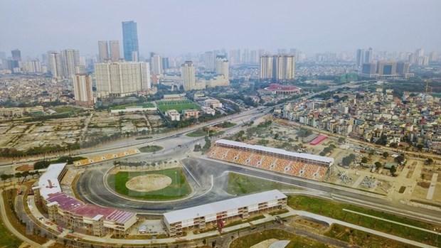 Acelera Hanoi los ultimos preparativos para carrera de F1 hinh anh 1