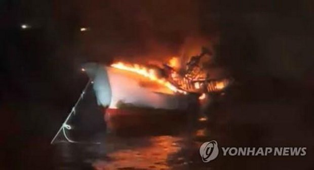 Vietnam aplica medidas de proteccion ciudadana tras incendio de barco en Corea del Sur hinh anh 1