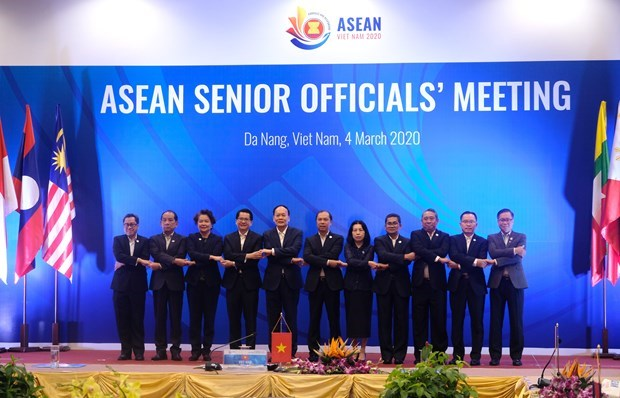 Inauguran en Vietnam reunion de altos funcionarios de ASEAN hinh anh 1