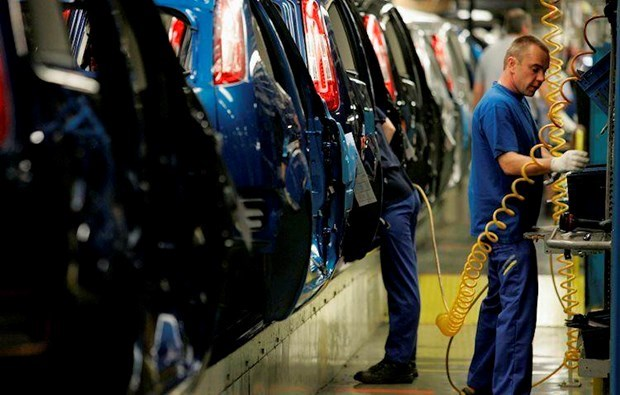 Reporta caida en sector manufacturero de Singapur en febrero hinh anh 1