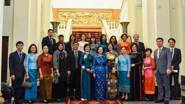 Reitera Vietnam apoyo a las mujeres para su incorporacion a actividades sociopoliticas hinh anh 1