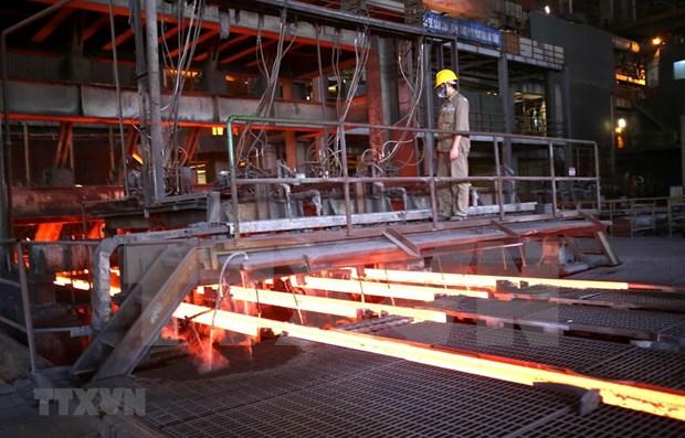 Empresa vietnamita exporta cerca de 205 mil toneladas de acero en febrero hinh anh 1