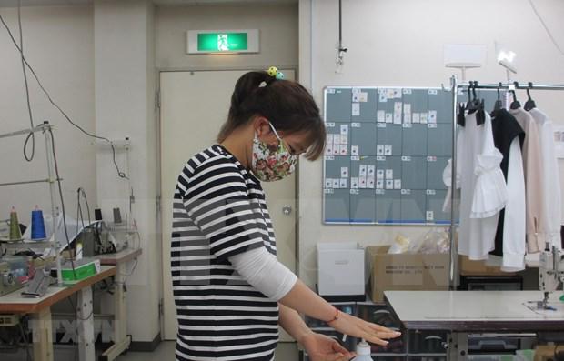 Ofrece Japon apoyo a aprendices vietnamitas ante del brote de COVID-19 hinh anh 1