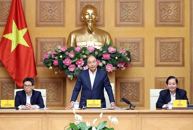 Preside primer ministro de Vietnam reunion del Consejo Nacional de Salarios hinh anh 1