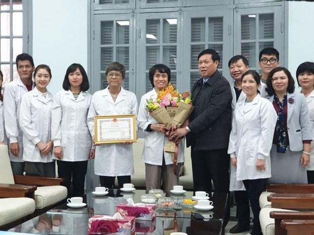 Premio Kovalevskaia honra a cientiticas vietnamitas por investigaciones sobre la influenza hinh anh 1