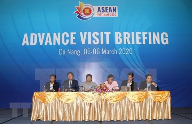 Vietnam listo para celebrar la 36 Cumbre de la ASEAN hinh anh 1