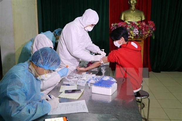 Inauguran en Hanoi Centro de asistencia en linea al tratamiento del COVID-19 hinh anh 1