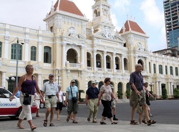 Ciudad Ho Chi Minh recibe a mas de un millon visitantes internacionales en primer bimestre del ano hinh anh 1