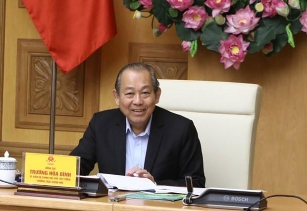 Vietnam por fortalecer lucha contra el terrorismo y el lavado de dinero hinh anh 1