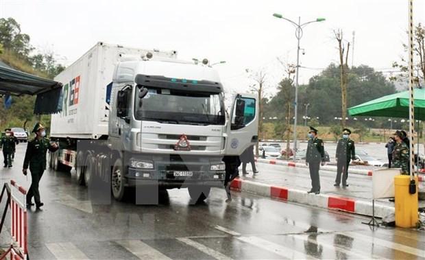 Vietnam recupera intercambio comercial a traves de puertas fronterizas con China hinh anh 1