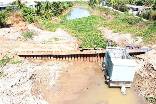 Delta del Mekong en Vietnam por contrarrestar efectos de sequia y salinizacion hinh anh 1