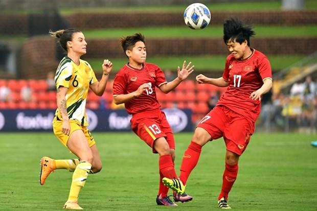 Puerta casi cerrada para seleccion femenina de futbol de Vietnam a Juegos Olimpicos 2020 hinh anh 1