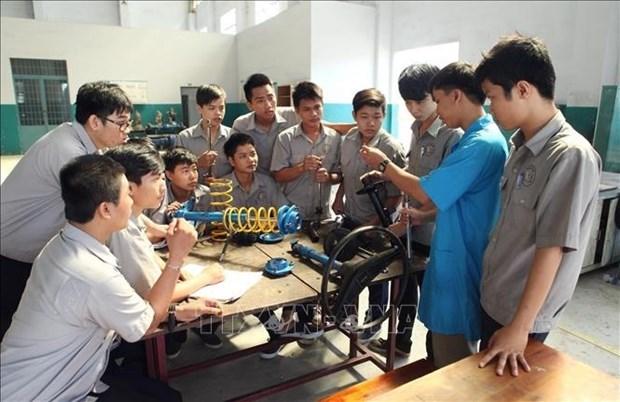 Vietnam busca perfeccionar los recursos humanos hinh anh 1