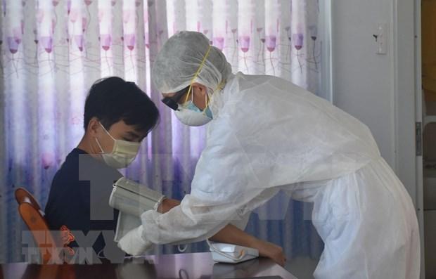 Detectan dos casos mas de COVID-19 en Hanoi hinh anh 1