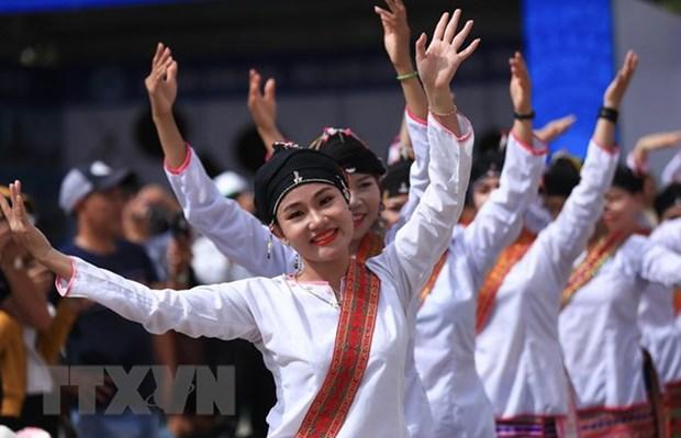 Presentan cultura de minorias etnicas de la region noroeste de Vietnam hinh anh 1
