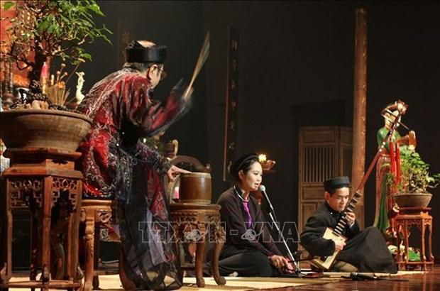 Ca Tru: magica musica tradicional de Vietnam hinh anh 1