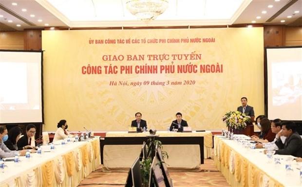 Analizan en Vietnam labores relacionadas con organizaciones no gubernamentales extranjeras hinh anh 1