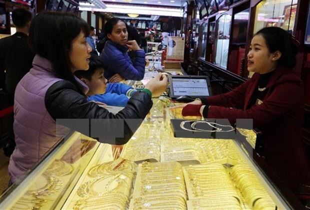 Prosigue la fiebre del oro en mercados de Asia hinh anh 1