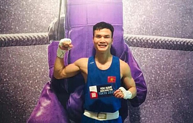 Boxeador da a Vietnam quinto boleto para los Juegos Olimpicos de Tokio 2020 hinh anh 1